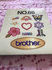 Brother No.66 Embroidery Card Groovy Designs Pes format