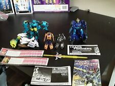 transformers lot action figures instructions