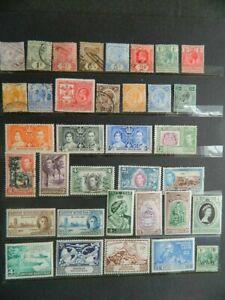 2102 BRITISH HONDURAS COLLECTION NH/MOUNTED MINT/USED  CV $55+