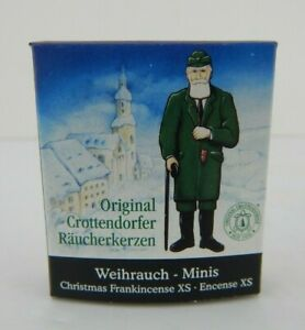 German Crottendorfer Christmas Frankincense Scent MINI Incense Cones for Smokers