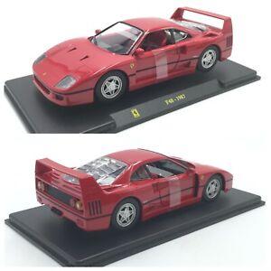 1/24 Ferrari F40 1987 The Big/Large Ferrari Number 6 Shipping Home