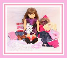 """❤️Vintage American Girl Doll 18"""" Pleasant Company Molly Shoes Clothes BIG Lot❤️"""