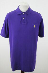 RALPH LAUREN Purple Polo Shirt size XL