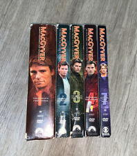MacGyver Seasons 1, 2, 3, 4, 7 Complete Sets