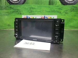 2007,2008,2009 Dodge Durango Chrysler Jeep Radio 6 CD DVD Player For Parts