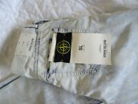 "STONE ISLAND BLEACHED WASH SLIM FIT JEANS 32"" W / 34"" L EXCELLENT CONDITION"