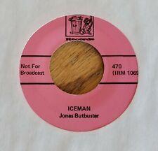 Jonas Butbuster : My Ding-A-Ling / Iceman (Trash Records 45)