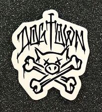 Dogtown Pigbones Skateboard Sticker small 1.75in si