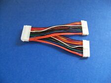 """NEW EPS 24 PIN OR ATX 24 PIN Y SPLITTER POWER CABLE---6"""" MADE IN USA"""