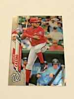 2020 Topps Chrome Update Baseball #42 - Starlin Castro - Washington Nationals