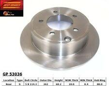 Disc Brake Rotor-SXT Rear,Front Best Brake GP53036