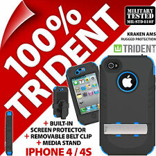 Trident Kraken AMS Robuste Protection Housse Etui Coque Rigide pour iPhone 4/4S