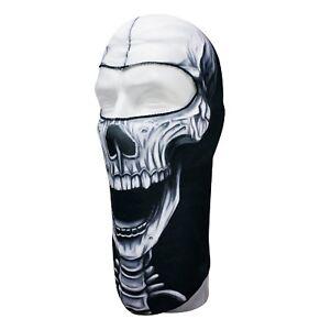 Skull Face Mask Balaclava ATV Motorcycle Snowmobile Skiing Skullskinz Lite