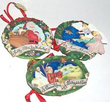 Six different assorted danbury mint ornaments