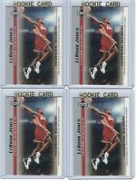 x4 LEBRON JAMES 2003-04 Upper Deck Rookie Card lot/set Mint! Gold Top Loader #13