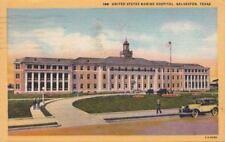 Postcard United States Marine Hospital Galveston Texas