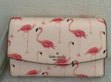Kate Spade Laurel Way Festive Flamingos Winni Clutch Crossbody Bag WLRU6223