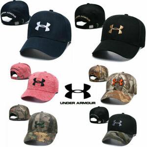 New Under Armour Baseball Cap Sport Adjustable Mens Womens Golf Summer Visor Hat