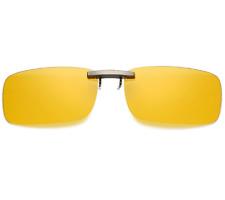 Clip-on Polarized Night Vision Sunglasses Flip-up Lens Driving Fishing Glasses