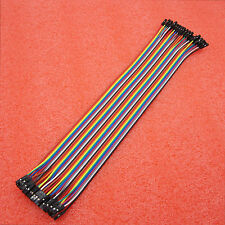 Arduino Dupont cables Shield 40pcs 30cm 2.54mm 1P-1P Female to Female