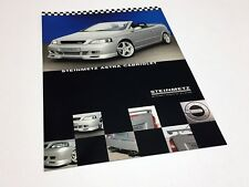 2001 Steinmetz Opel Astra Cabriolet Accessories Information Sheet Brochure