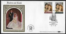 GB FDC 1986 Benham BLCS 15 - Royal Wedding Andrew & Sarah - Westminster Abbey