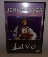 DVD JOHN DENVER - LIVE - NUOVO NEW