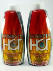 2 Ed Hardy Coming In Hot Tingle Tanning Bed Lotion Tanovations 10 oz