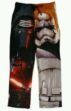 Disney Star Wars Episode 7 Kylo Ren Stormtrooper Pajama Lounge Pants Mens Medium
