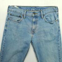 Levi's 511 Mens  Jeans W31 L34 Blue Slim Straight