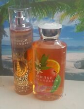 bath and body works mango mandarin shower gel and fine fragrance mist