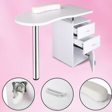 NEW Professional 3Drawers Salon Nail Art Table Manicure Technician Desk Station