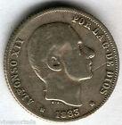 Alfonso XII 1883 Philippines 20 Ctvos Manila @@ Bella @@