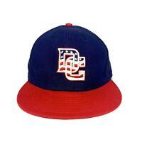 New Era 59fifty MLB DC Washington Nationals Baseball Fitted Cap Hat Size 7 1/4