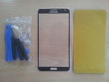 Cristal de Pantalla Negro para Samsung Galaxy Note 3 + Adhesivo + Herramientas