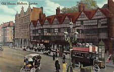 POSTCARD    LONDON  High  Holborn    Old  Houses