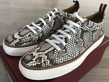 $1,500 Bally Hernando Real Python Roccia Sneakers Size US 12 Made in Switzerland