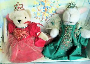 Muffy & Hoppy THE YULE JEWEL BALL Boxed Collector's Edition, Lovely Crowns, 2001