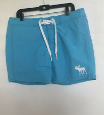 Abercrombie & Fitch Men's Turquoise Blue Board/ Swim Shorts. Size XL NWOT.