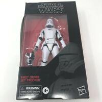 Star Wars The Black Series First Order Jet Trooper 6 inch #99 *BOX WEAR* SEALED