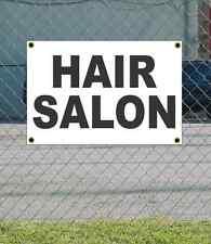 2x3 HAIR SALON Black & White Banner Sign NEW Discount Size & Price FREE SHIP