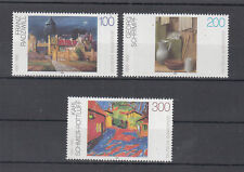 Germany 1995 Paintings Art, Artists,Cat, Buildings, Abstract, Modern Set MNH/**