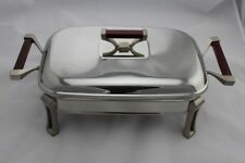 Stainless Steel Chafing Dish with Glass Food Tray 2 Litres