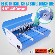 "Electrical 18"" 460MM Paper Scoring Creasing Machine Scorer Creaser Promotion"