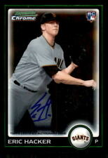 2010 Bowman Chrome #216A Eric Hacker Giants Rookie Auto (ref 30630)