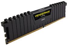 Corsair Vengeance BLACK LPX 16GB 2x8GB DDR4 2400MHz PC Memory CMK16GX4M2A2400C14