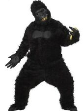 Adult Black Gorilla Goin' Ape King Kong Sasquatch Full Suit Costume Standard