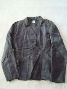 ISSEY MIYAKE cut design jacket blue gray Size 3 prompt decision JAPAN F/S