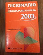 Dicionario Da Lingua Portuguesa (Portuguese Edition) (Edn. 2003)