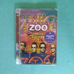 📀 U2 - ZOO TV LIVE FROM SIDNEY - DVD NUOVO SIGILLATO!!!